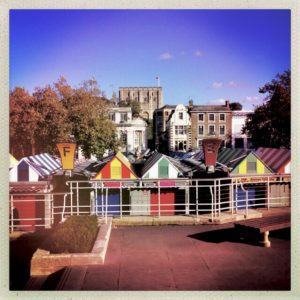 Norwich Market and Castle